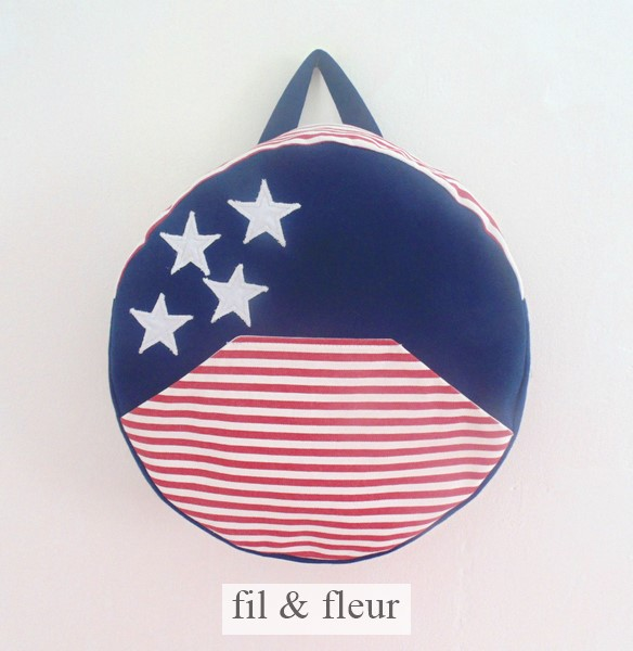 sac bleu marine usa