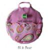 sac à dos enfant rose cahemire