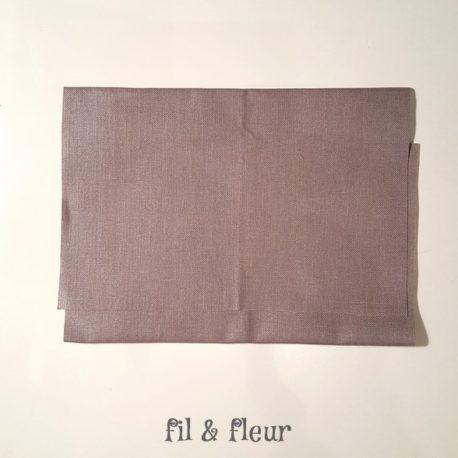 pochette serviette gris